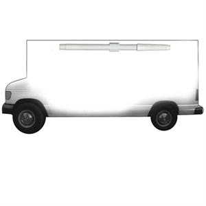 Moving Truck Shaped Dry Erase Memo Board With Marker