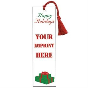Bookmark With Happy Holidays Design
