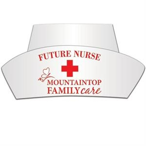 Nurse Hat Made From 14 Pt., High Density Poster Board