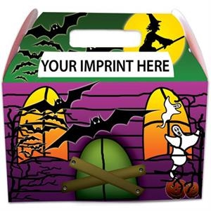 Haunted House Box Made From Heavy Poster Board
