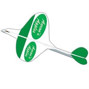 Elliptic Paper Airplane
