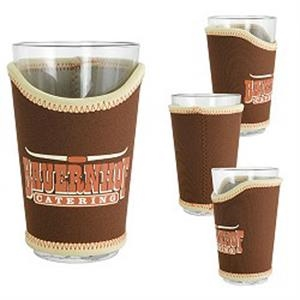 Stacie - Deluxe Pint Glass Sleeve, High Quality Neoprene