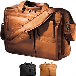Vaqueta Contemporary Laptop Briefcase