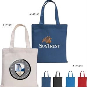 Mini Economy - Silkscreen - Quality Colored Cotton Sheeting Tote Bag