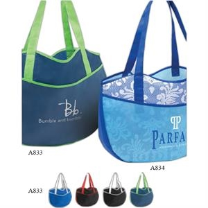 "Poly Pro Leisure - Non Woven Polypropylene Tote Bag With 22"" Handles"