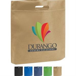 Poly Pro - Silkscreen - Non-woven Polypropylene Tote With Die Cut Handles
