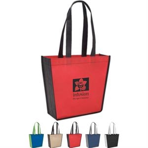 "Poly Pro Trapeze - Silkscreen - Polypropylene Tote Bag With 22"" Handles"