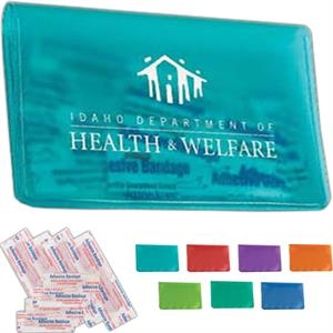 Translucent Vinyl Pocket First Aid Kit