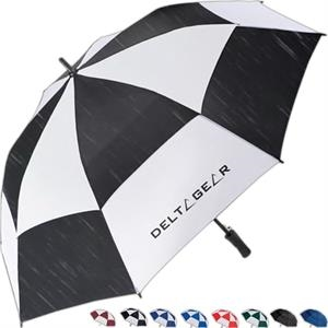 "Totes (r) Stormbeater (r) - Golf Stick Umbrella With 60"" Arc And Windproof Double Canopy Resists Inversion"
