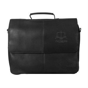 Vaqueta Napa Laptop Flapover Briefcase