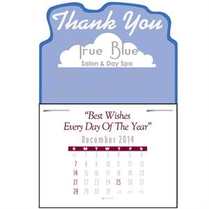 Press-n-stick (tm) - Contemporary Style Thirteen Month Calendar Pad