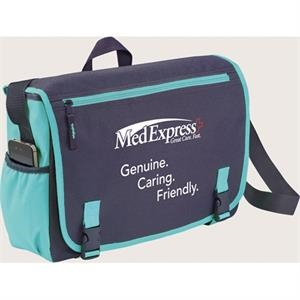 "Punch - Compu-messenger Bag With That Holds Up To A 15"" Computer Plus Ipad/tablet"