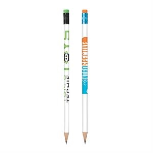 Bic (r) Color Connection - Pencil With #2 Graphite Lead, Mix And Match Ferrule And Eras
