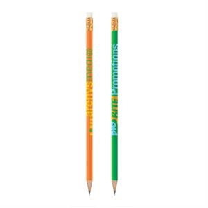 Bic (r) - Wood Barrel Pencil With #2 Graphite Lead, Gold Ferrule And White Eraser