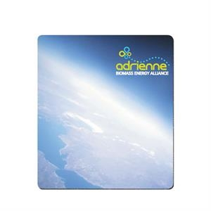 Mouse pad with firm surface