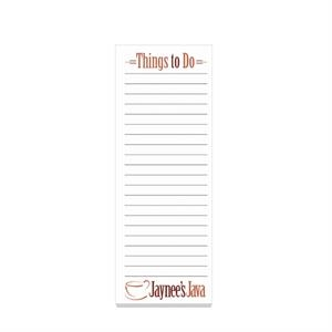 "Eco Friendly 3"" x 8\"" Adhesive Notepad"
