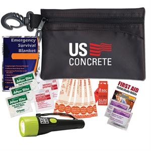 This Survival Kit Contains A Variety Of Must Have Emergency Items