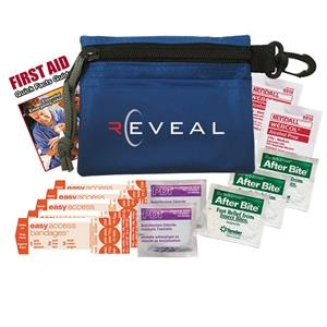 First Aid Kit Features A Variety Of Basic Necessities