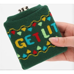 Holiday Sweater Flask