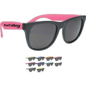 Black Framed Sunglasses With Uv400, Uva And Uvb Protection