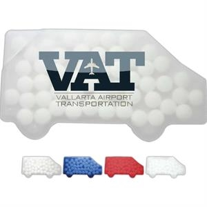 Sugar Free Peppermints In A Truck Shaped Container