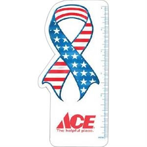 "Ribbon - Flag Design - 6"" Ruler"