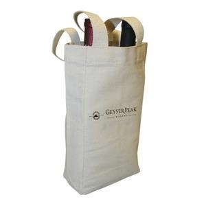 Double Cotton Canvas Wine Tote