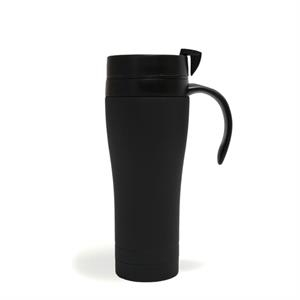 Luxy - Black - 15 Oz. Stainless Steel Coffee Mug