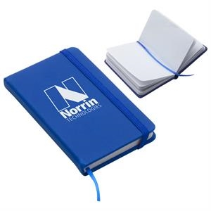 80 Sheet Pain Journal Pad With Elastic Closure And Ribbon Page Marker