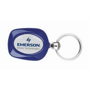 Vortex Duo N-dome (tm) - Blue - Vortex Duo N-dome (tm) Key Tag In Three Trim Color Choices
