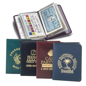 Card Case With 2 Year Calendar Card Holds Twelve Or More Credit Cards