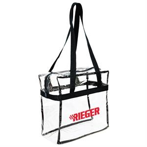 Pioneer - Clear Tote With Sturdy 600 Denier Handles