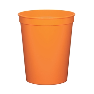 Orange - 12oz Stadium Cup Available In 12 Colors