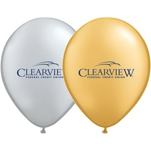 "Qualatex (r) - Metallic Color Round 16"" Latex Balloon"