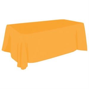 6Ft Indoor Outdoor Event Tablecloth-2 Color Non-fitted