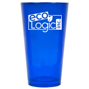 16 oz. Sapphire Blue Colored Party Pint Mixing Glass