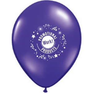 Qualatex (r) - Jewel And Fashion Colors Round Latex Balloon, 11""