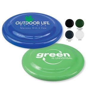 "7 1/4"" Diameter Recycled Flying Disc, 45 Grams, Compact And Affordable"