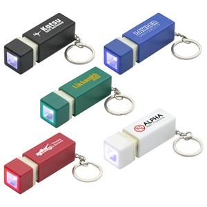 Pull-lite - Plastic Pocket Sized Led Key Chain Flashlight