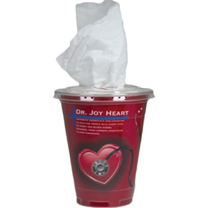 Tissue Cup Container