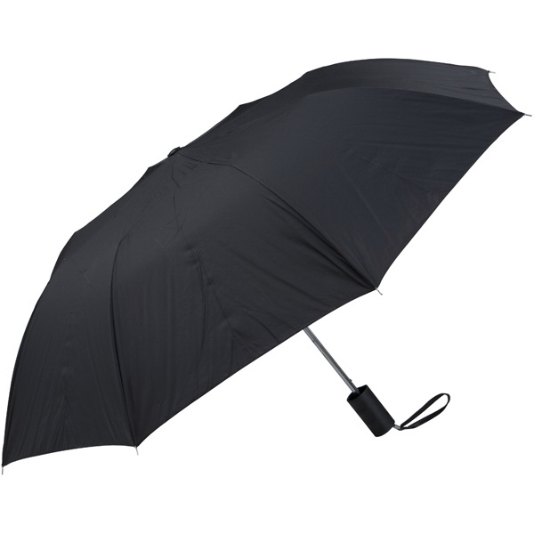 "Black - Personal Pop-up Umbrella, 42"", Folds To 14"" Photo"