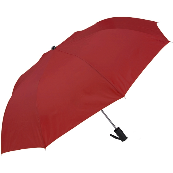 "Red - Personal Pop-up Umbrella, 42"", Folds To 14"" Photo"