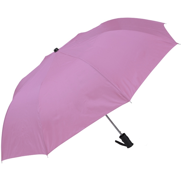 "Pink - Personal Pop-up Umbrella, 42"", Folds To 14"" Photo"