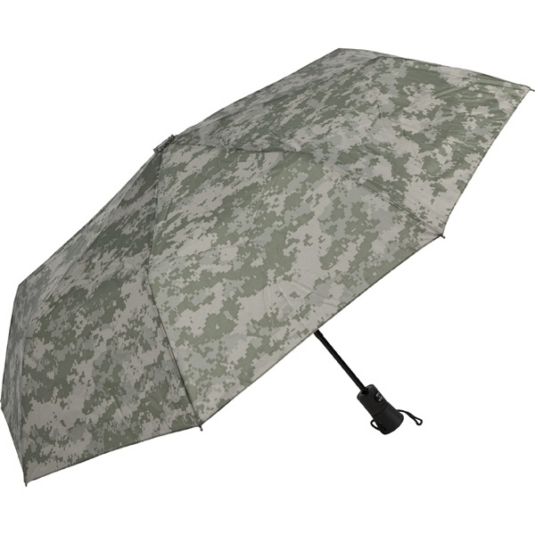 "Digital Camouflage Specialty Folding Auto Open/close Umbrella, 42"" Arc Photo"