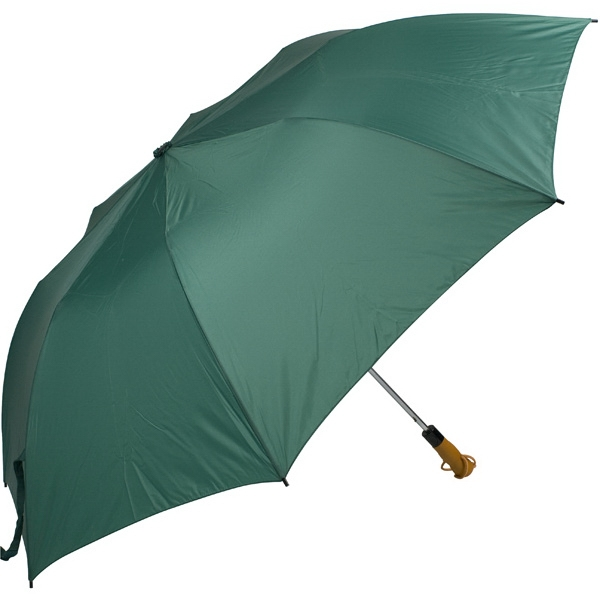 "Pine - 58"" Folding Golf Umbrella With Automatic Open Photo"