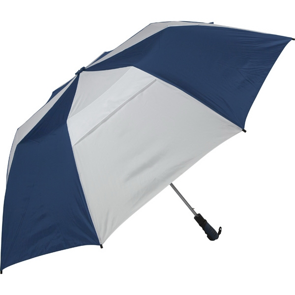 "The Professional 345 (tm) - Navy-white - Folding Golf Umbrella, Folds To 22"" Photo"