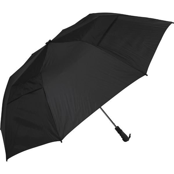 "The Professional 345 (tm) - Black - Folding Golf Umbrella, Folds To 22"" Photo"