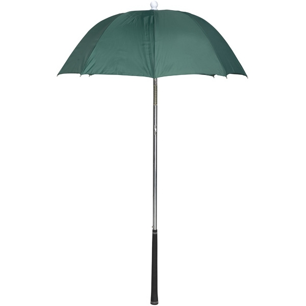 Bag Brolly (tm) - Pine - Umbrella Protects Golf Clubs From The Rain Photo