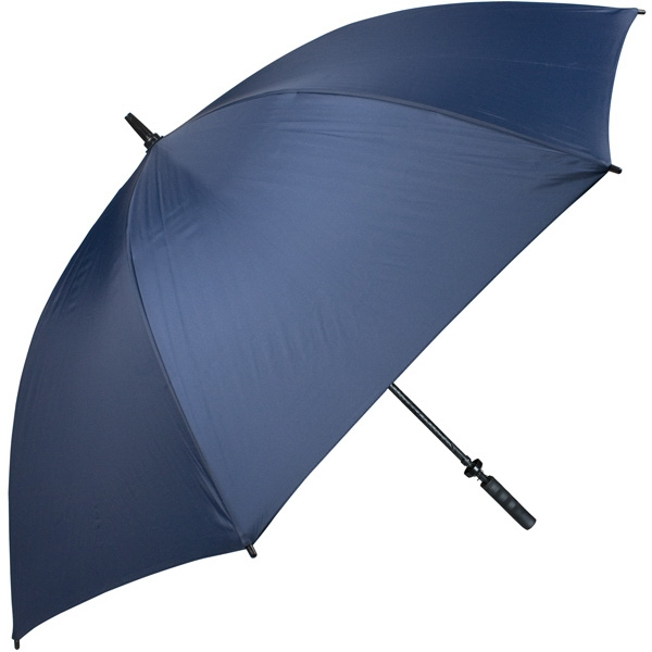 "Pro-line (tm) - Navy - Single Canopy Golf Umbrella With Black Braided Fiberglass Shaft, 62"" Photo"