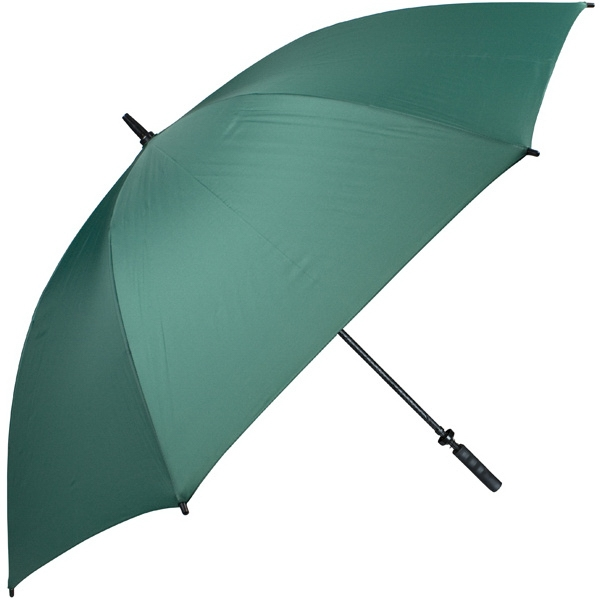 "Pro-line (tm) - Pine - Single Canopy Golf Umbrella With Black Braided Fiberglass Shaft, 62"" Photo"
